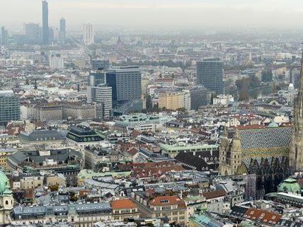Wo liegen die Trendviertel der Stadt Wien im Jahr 2015?
