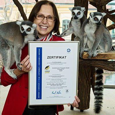 Die Freude über die Zertifizierung im Tiergarten Schönbrunn ist groß