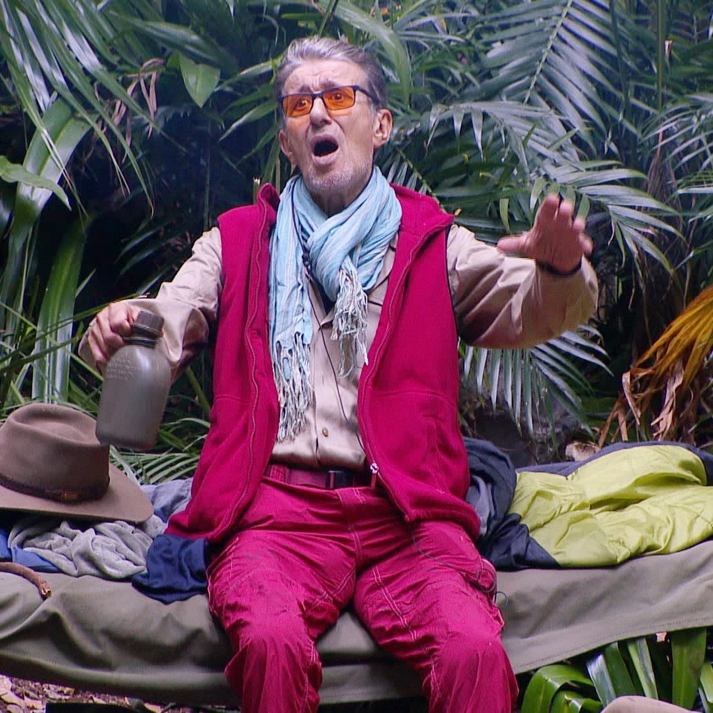 Rolf und David müssen das Dschungelcamp am 8. Tag verlassen.