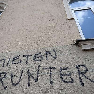 Diesem Graffiti wird nicht nachgekommen, die Richtung stimmt aber