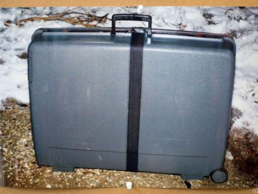 Leichnam der Frau zerstückelt und in Koffer gepackt