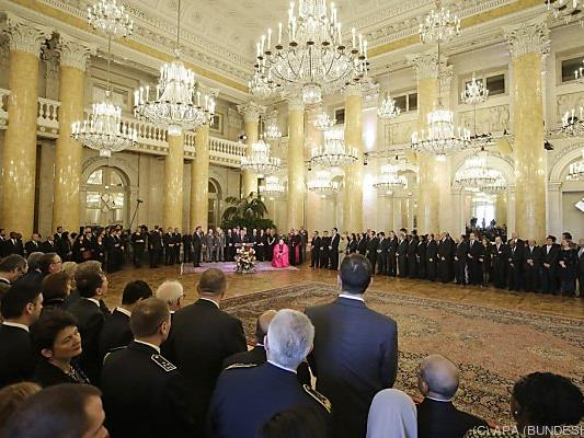 Neujahrsempfang für das Diplomatische Corps