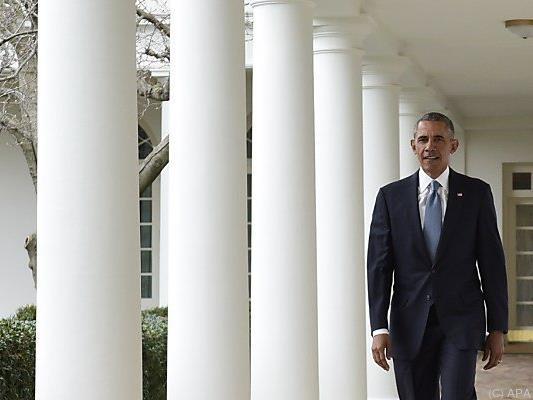 US-Präsident Obama vor seiner traditionellen Rede