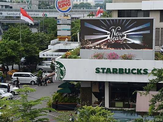 Bewaffnete hatten ein Starbucks-Cafe angegriffen