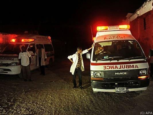 Zwei Selbstmordanschläge der islamistischen Terrormiliz Al-Shabaab