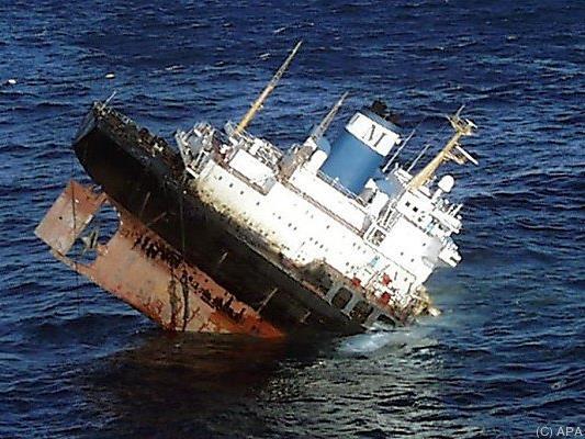 """Die """"Prestige"""" sank im November 2002"""