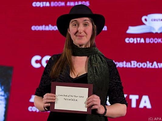 Die britische Autorin überrascht und glücklich