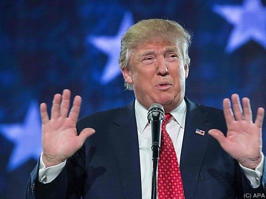 Donald Trump sorgt weiter für Schlagzeilen
