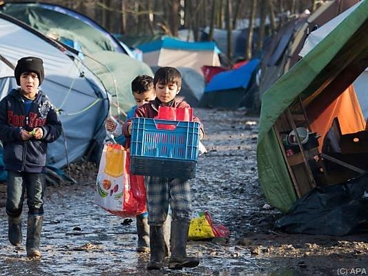 Rund ein Viertel der Flüchtlinge sind Kinder und Jugendliche