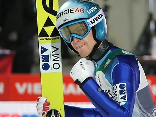 Michael Hayböck freut sich auf Innsbruck und Bischofshofen