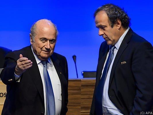 Platini reagierte umgehend, sien Anwalt kündigte Einspruch an