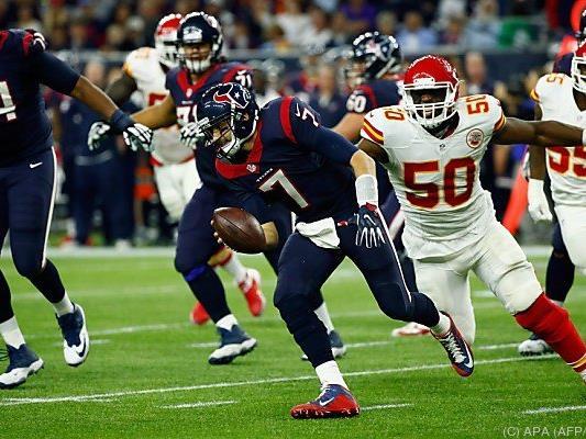 Texans-Quarterback Brian Hoyer war maßgeblich am Kansas-Sieg beteiligt