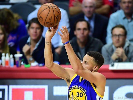 Curry erneut Top-Korbjäger