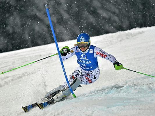 Die Slowakin hat einen Vorsprung von einer halben Sekunde