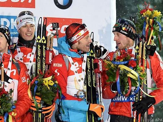 Österreicher freuen sich über Platz drei