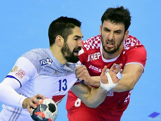 Frankreich besiegte Kroatien klar mit 32:24