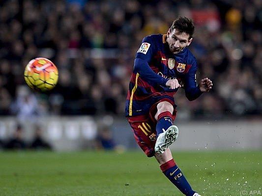 Messi erneut das Maß aller Dinge