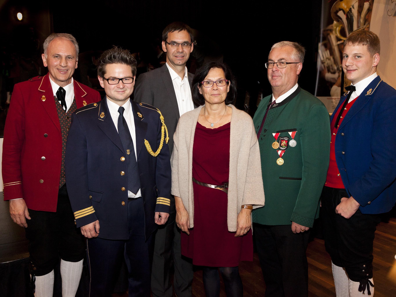 Landeshauptmann besuchte den traditionellen Neujahrsempfang des Vorarlberger Blasmusikverbandes