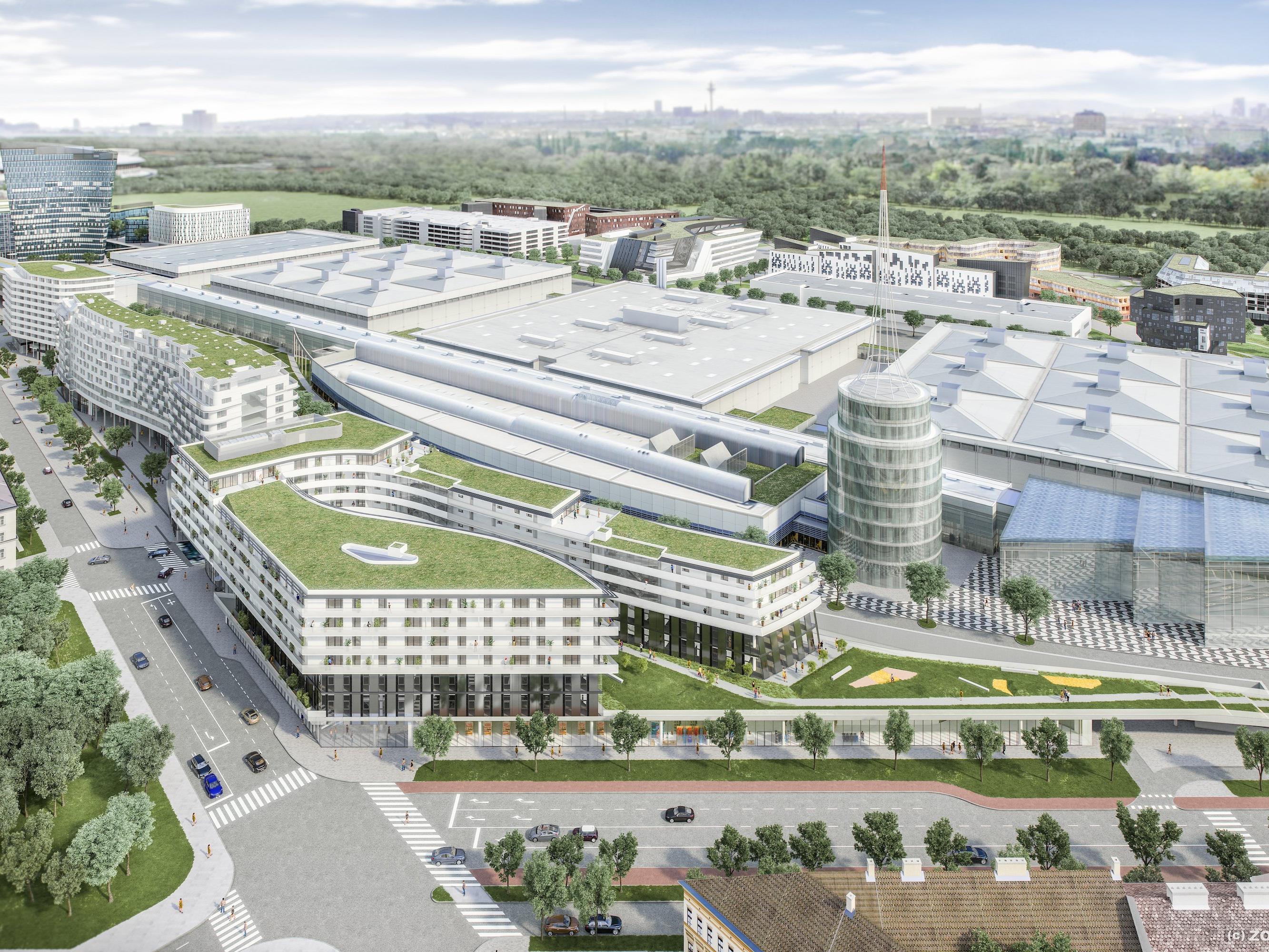 Bis 2017 soll das messecarree in Wien-Leopoldstadt entstehen.