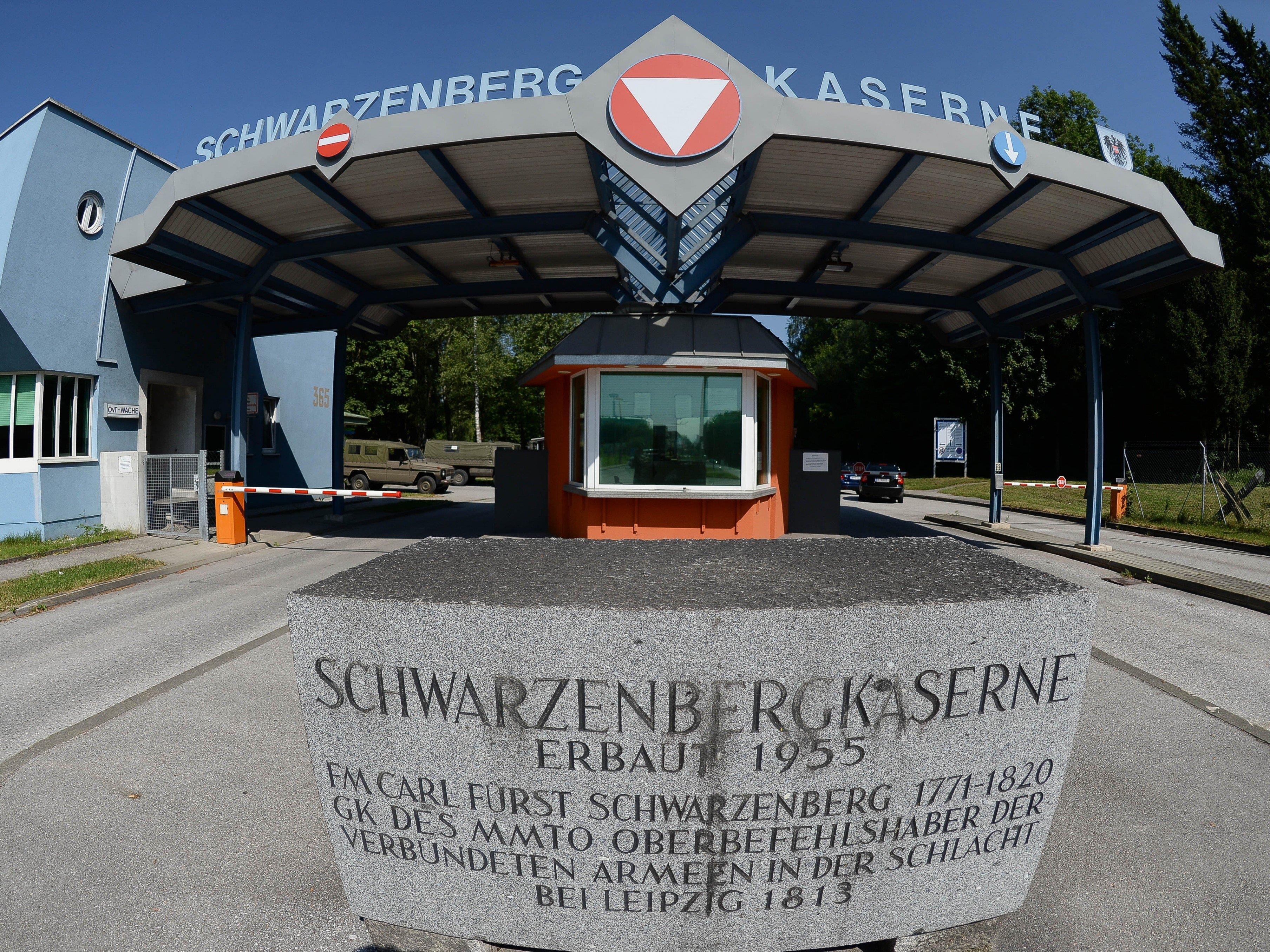 17-Jähriger bedrohte 20-Jährigen in der Schwarzenbergkaserne in Wals-Siezenheim.
