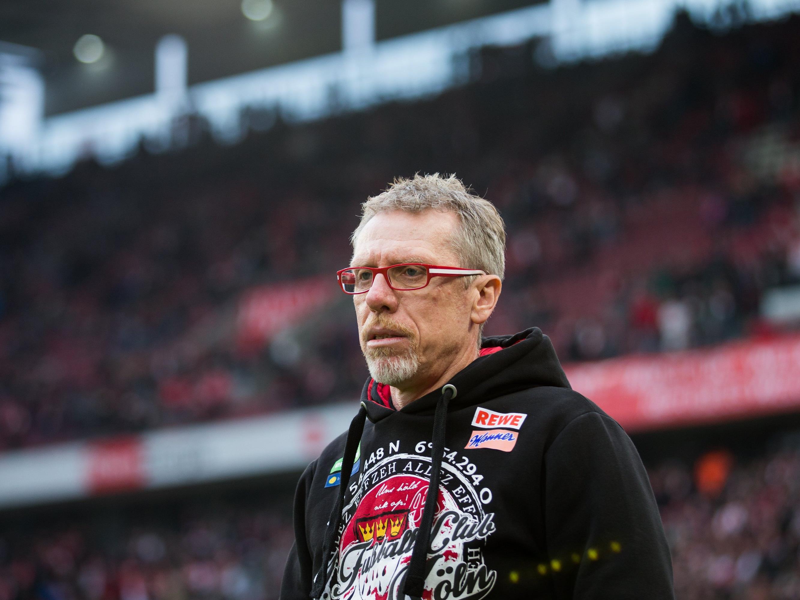 Peter Stöger verlängert beim 1. FC Köln.