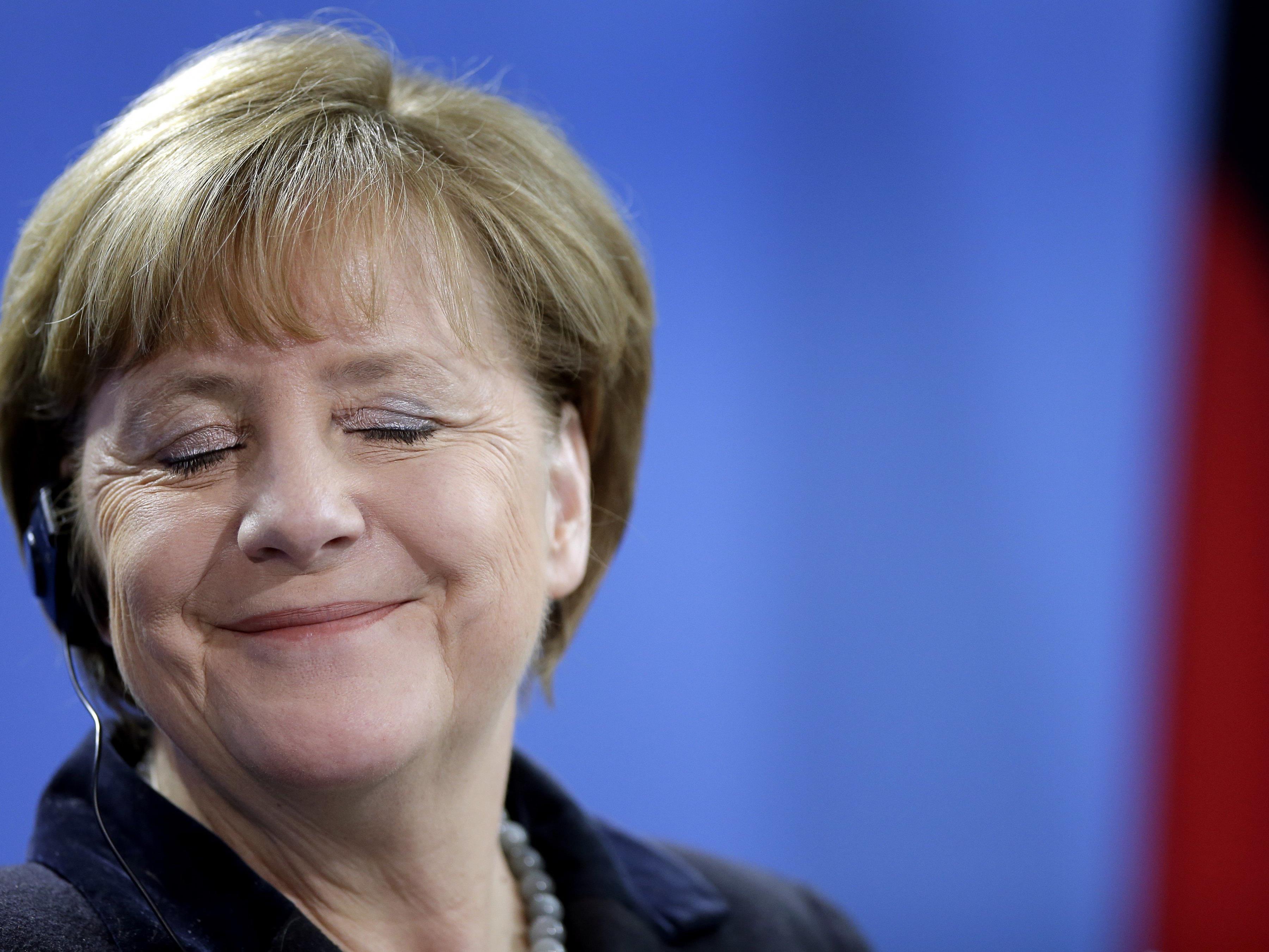 """Erstes Kind von syrischem Paar heißt nun """"Angela Merkel""""."""