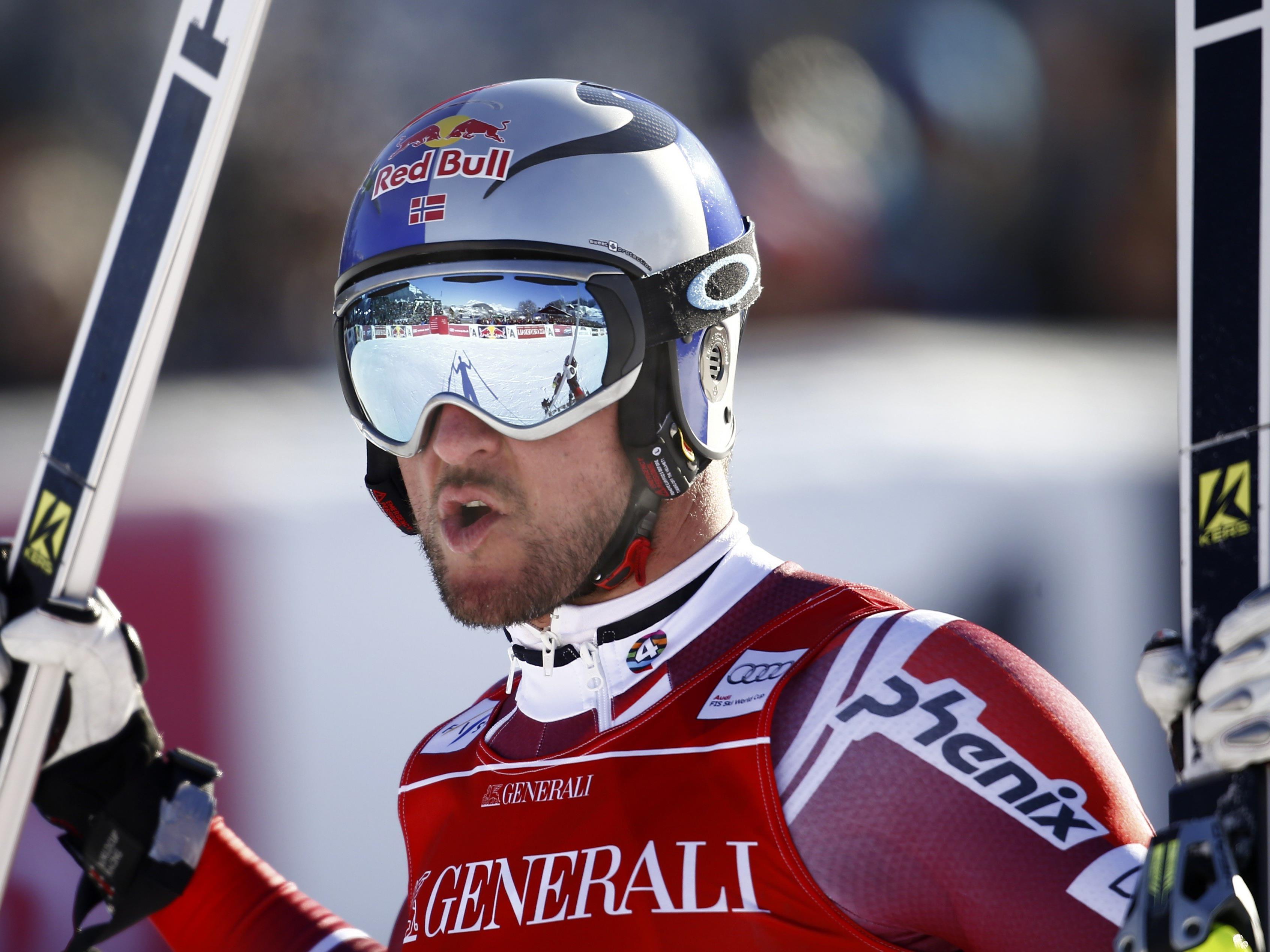 Aksel Lund Svindal konnte den Super-G in Kitzbühel für sich entscheiden.