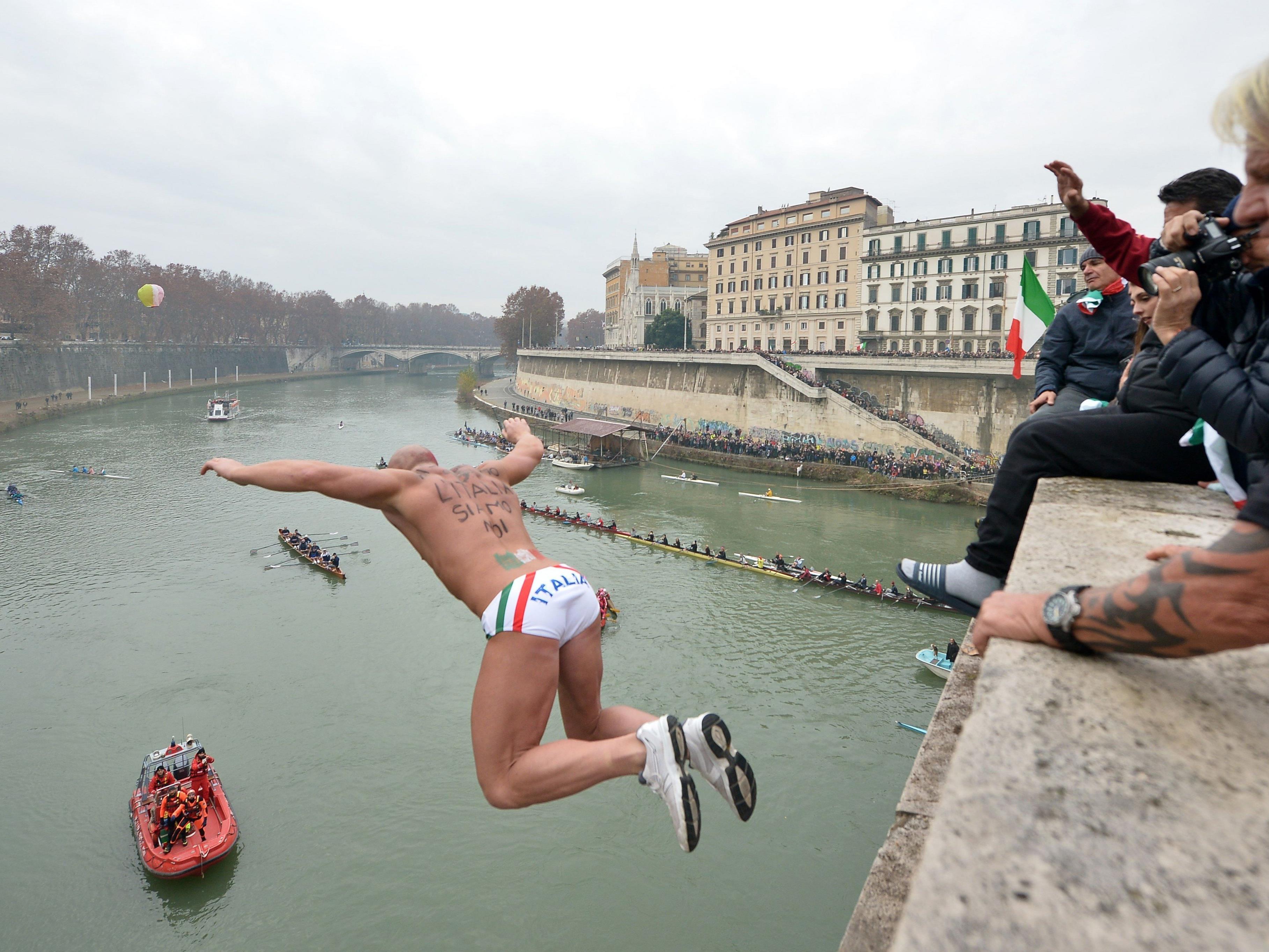 So springt Rom traditionell ins neue Jahr.