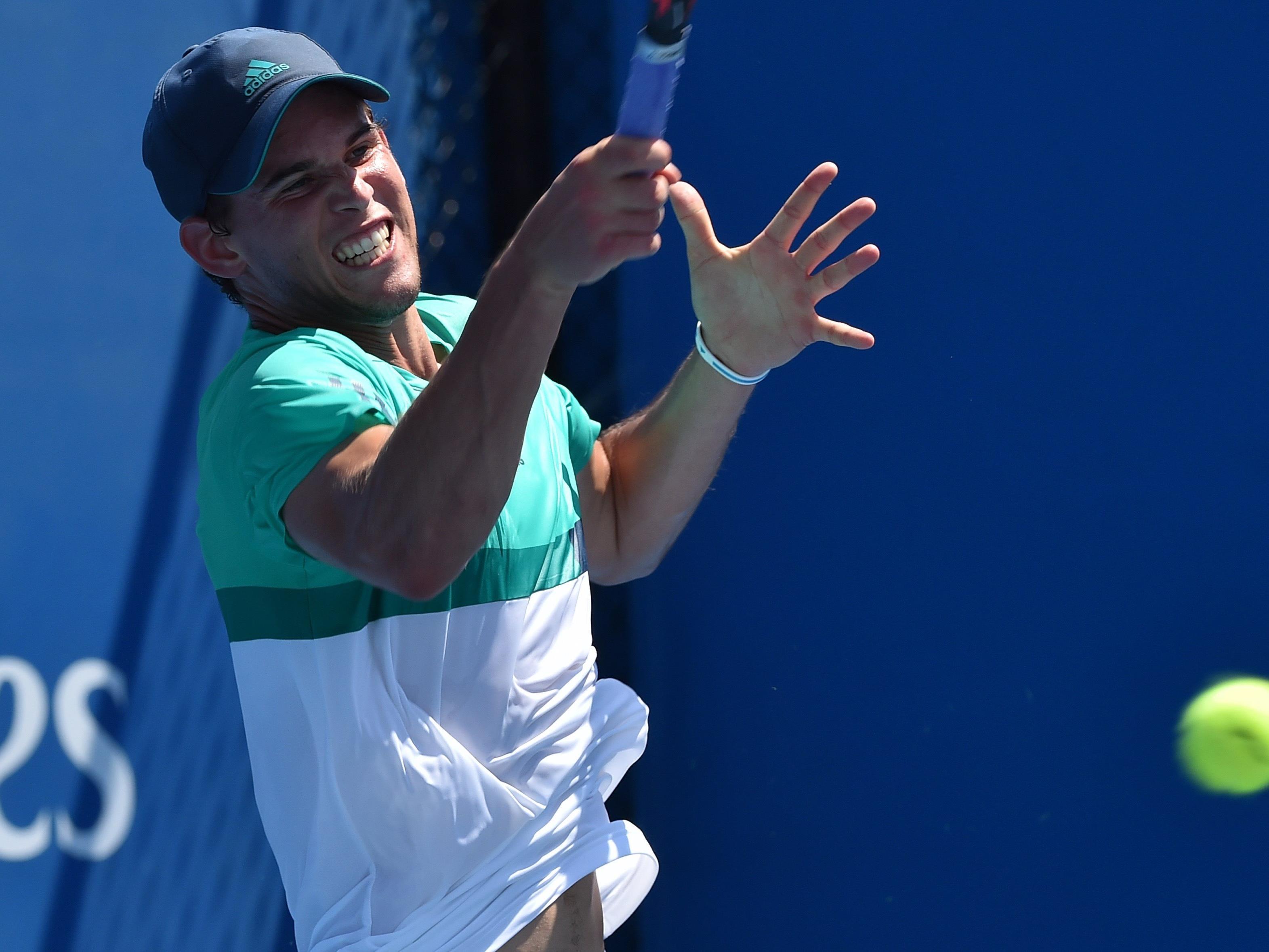 Dominic Thiem ist in Melbourne weiter im Turnier.