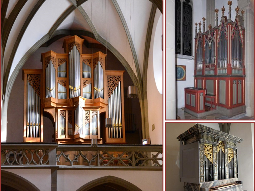 Orgelmusik aus drei Jahrhunderten an den drei Domorgeln