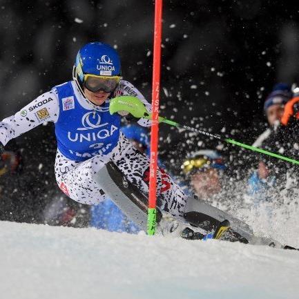 Veronika Velez Zuzulova war in Flachau nicht zu schlagen.