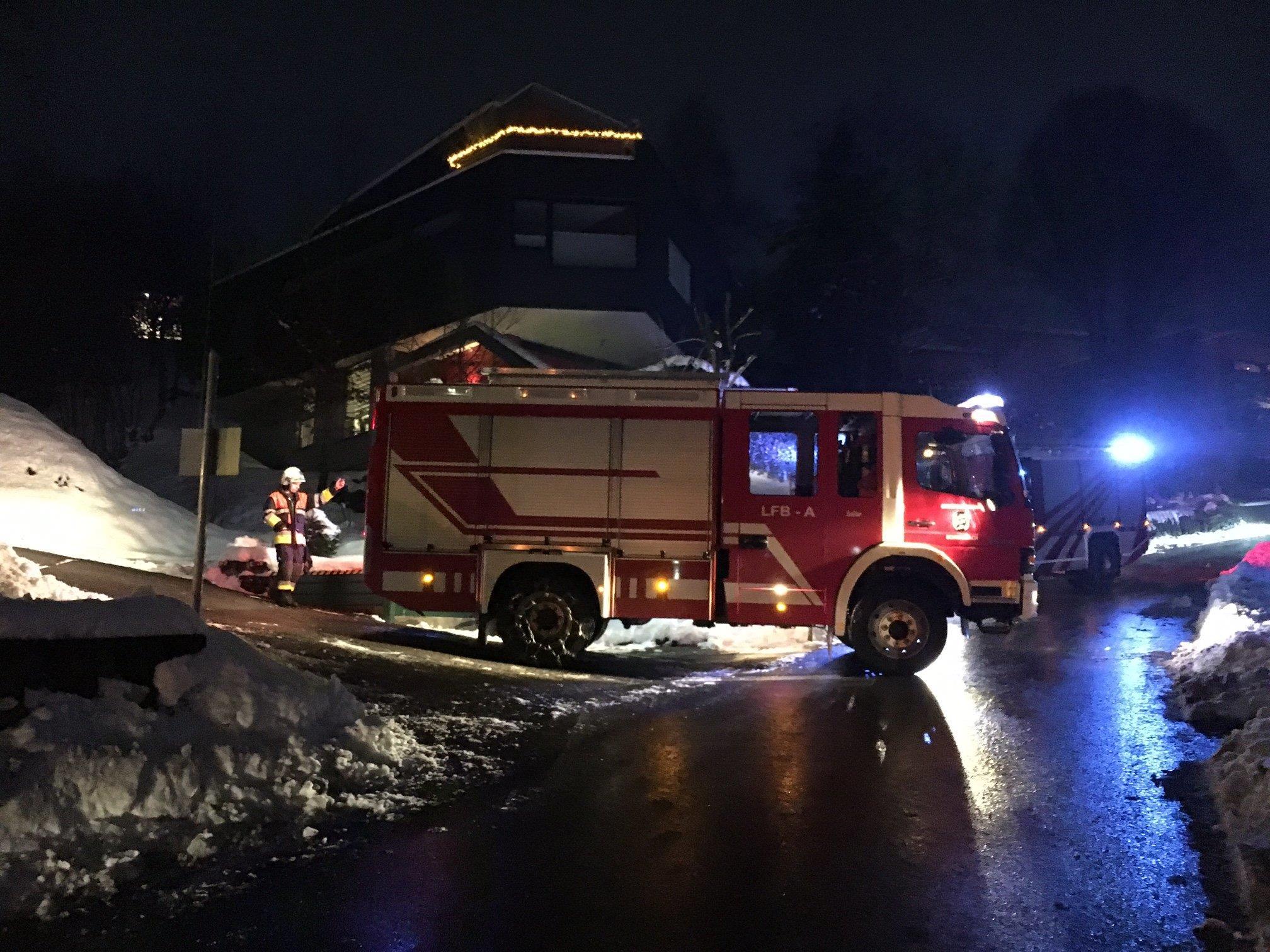 Feuerwehren Wolfurt, Schwarzach standen im Einsatz.