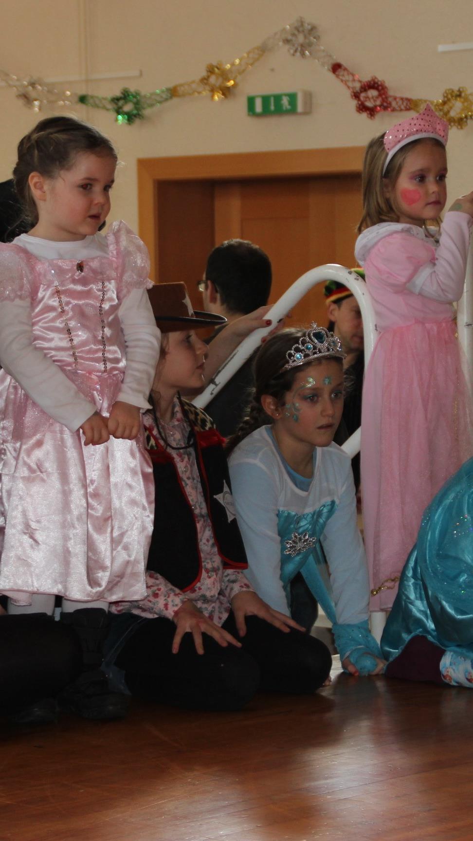 Die Kinder hatten einen riesen Spaß bei der Kinderfaschingsparty in Röthis.