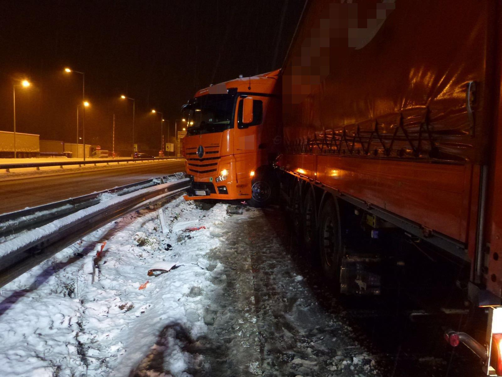 Die A14 war in Richtung Tirol bis 5 Uhr gesperrt.