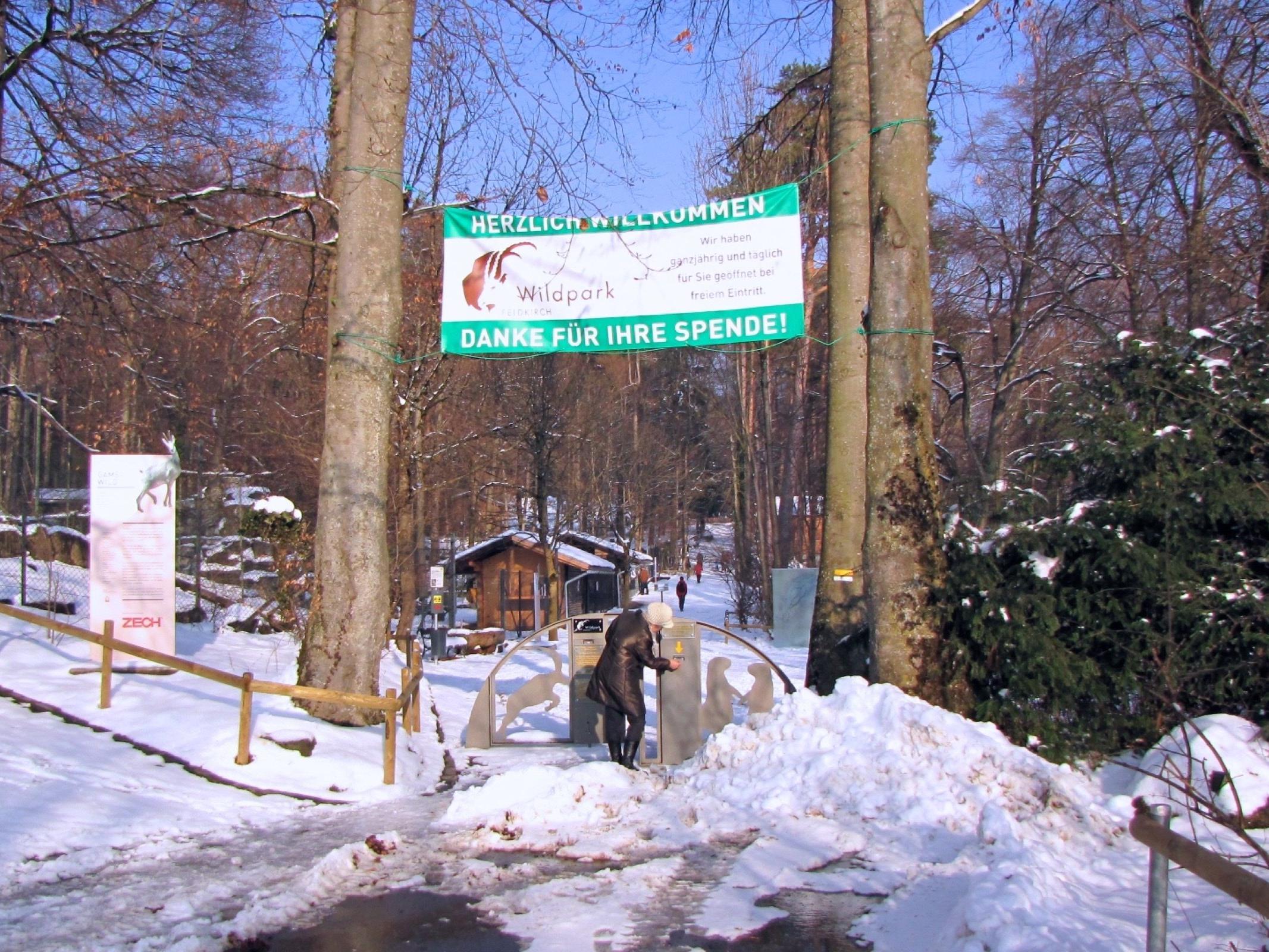 Der Wildpark Feldkirch bietet ein Tier- und Naturerlebnis für Groß und Klein und das ohne Eintrittsgebühr.