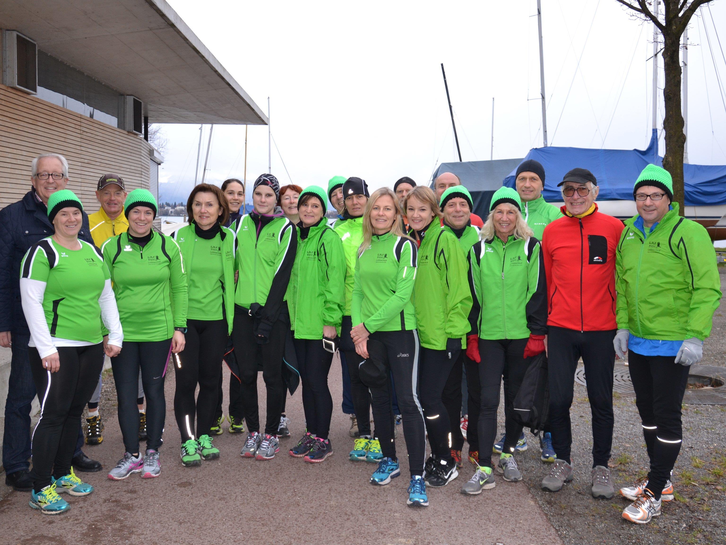 Auch beim 16. Lochauer Dreikönigslauf waren wieder zahlreiche Lochauer Laufsportfreunde aktiv mit dabei.
