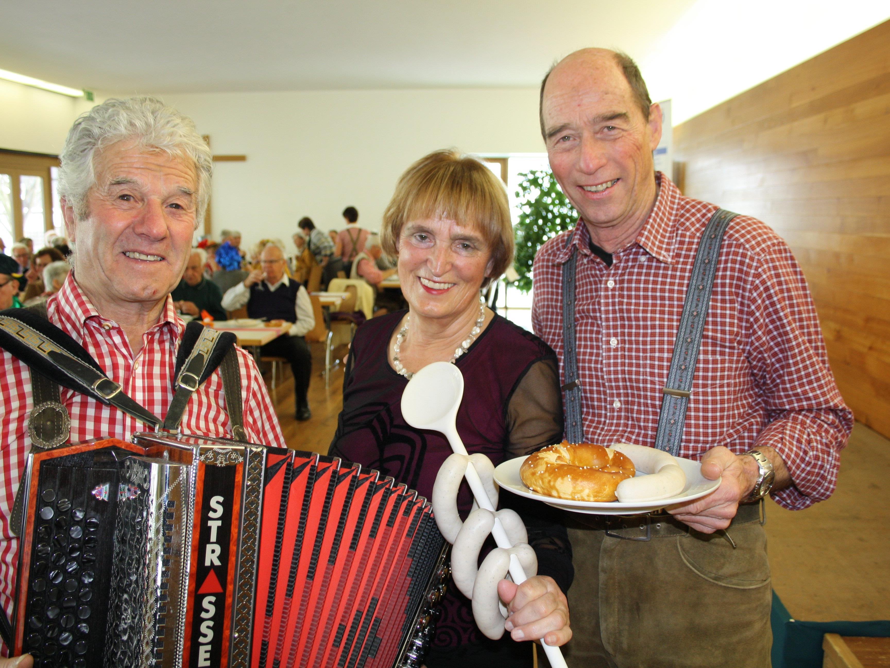 """Viel Musik, Kulinarium und beste Unterhaltung erwartet die Besucher bei der traditionellen """"Fasnat-Znüne"""" des Lochauer Kneippvereines."""