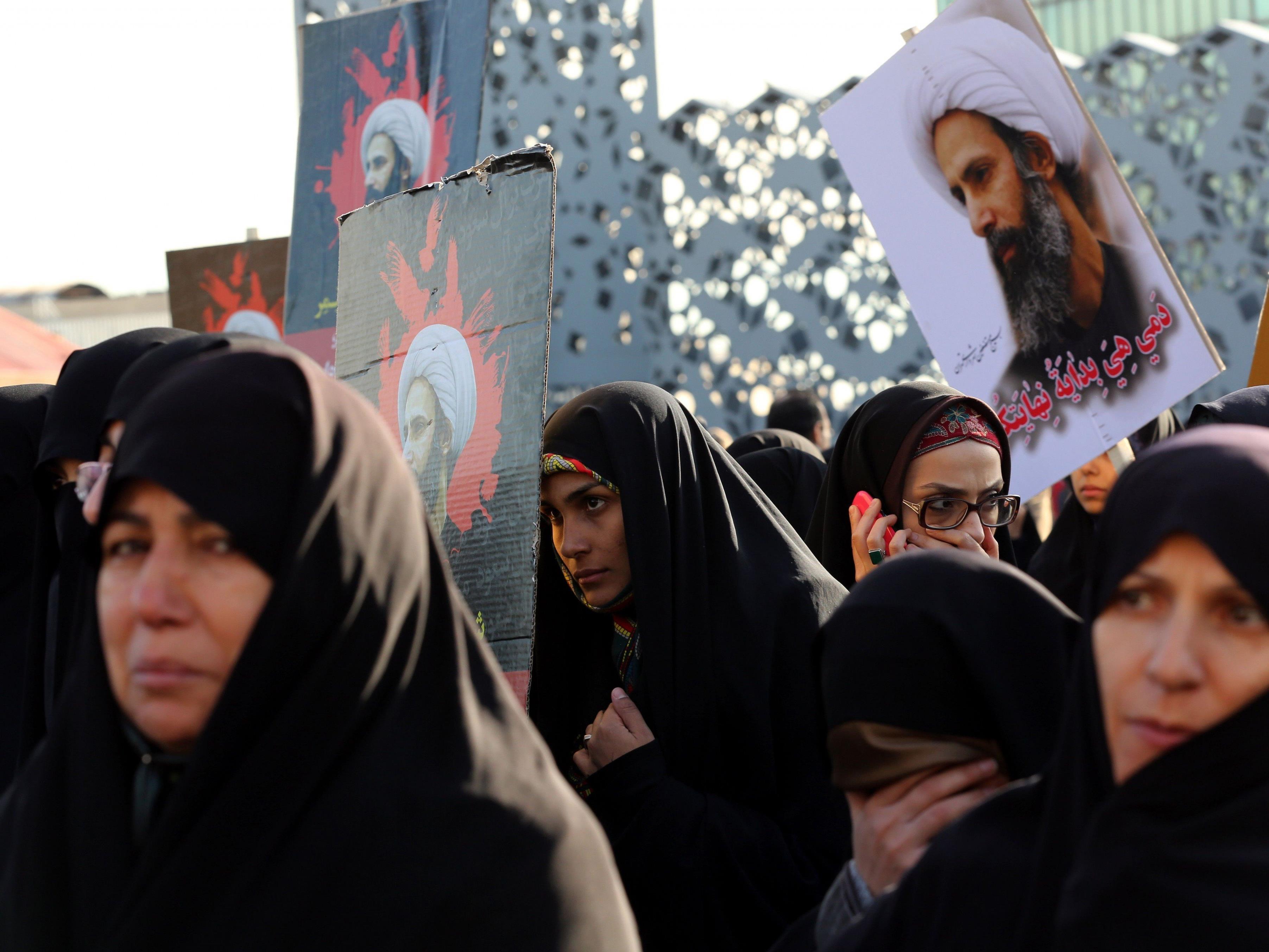 Aktueller Konflikt: Schiitischer Geistlicher Nimr al-Nimr wurde in Saudi-Arabien exekutiert.