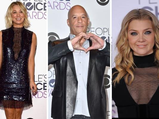 Mittwochnacht wurden die People's Choice Awards vergeben.