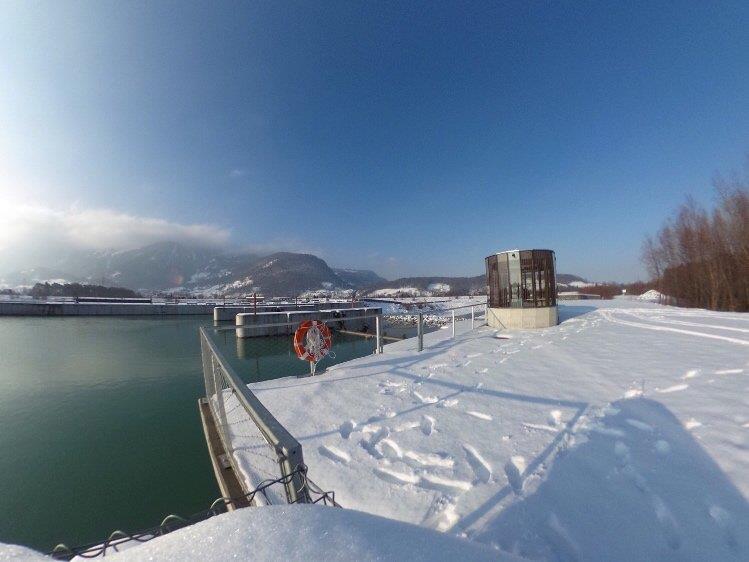 Wir besuchten das Kraftwerk Illspitz mit der 360°-Kamera.