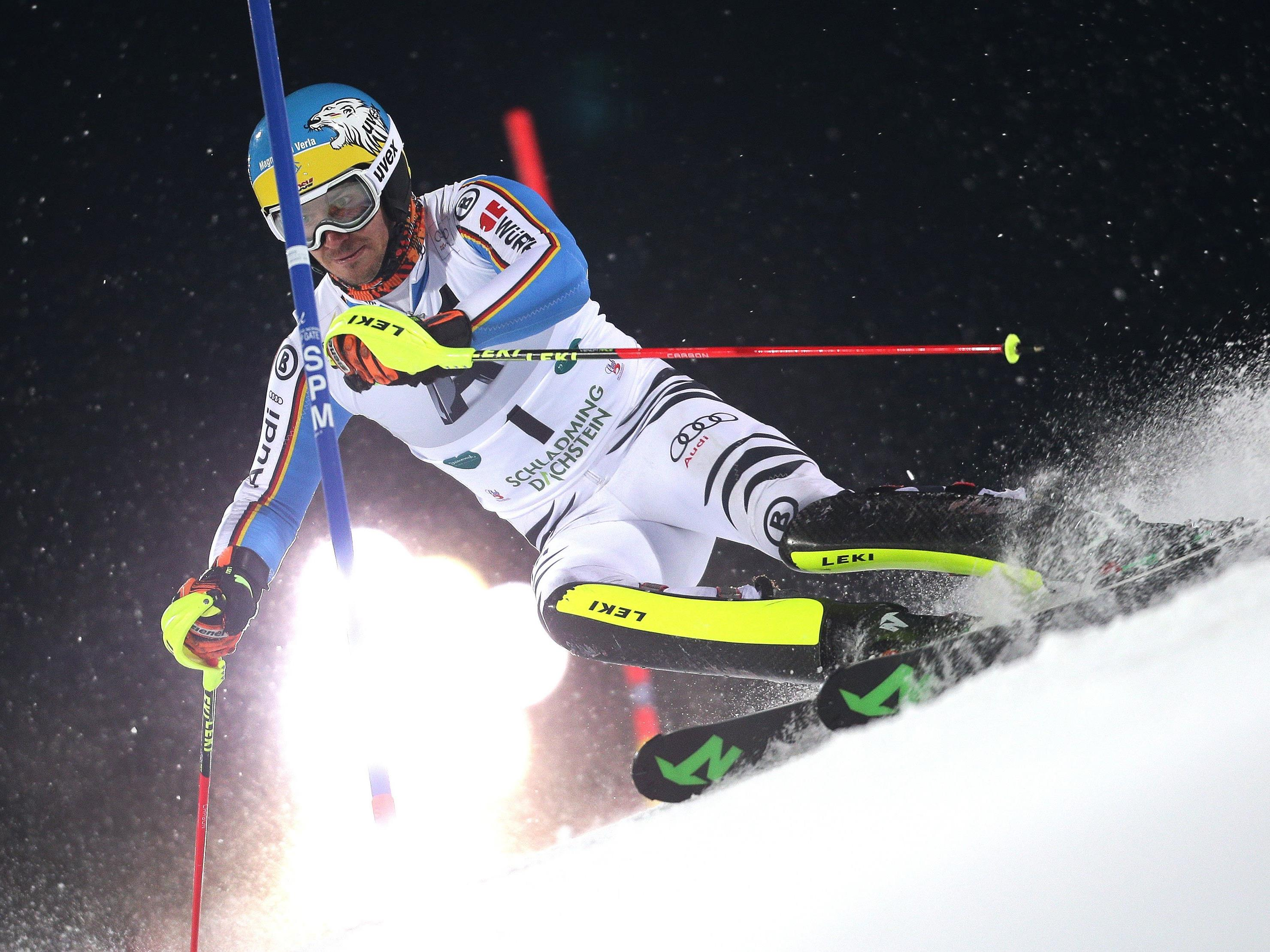 Felix Neureuther in Action.