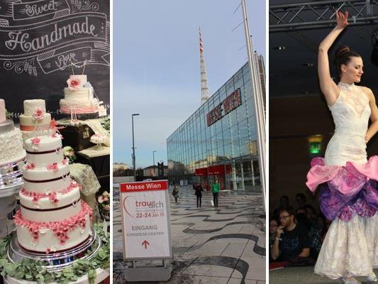 Die Trau Dich-Messe in Wien ließ keine Wünsche von Brautpaaren offen.