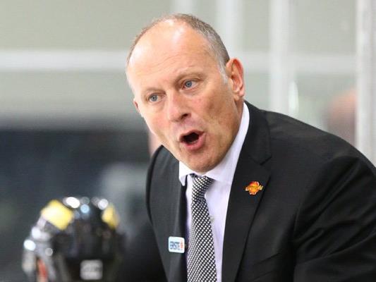 Heimsieg für Coach Jim Boni uns seine Vienna Capitals.