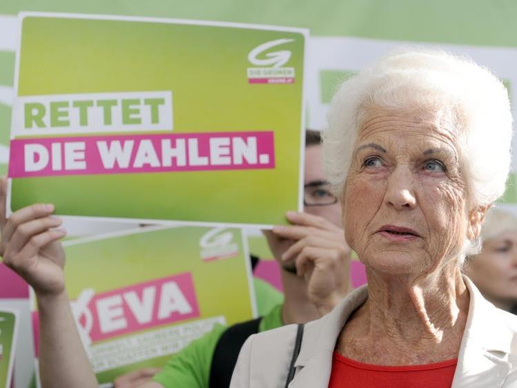 Abschied von der grünen Vordenkerin Freda Meissner-Blau.