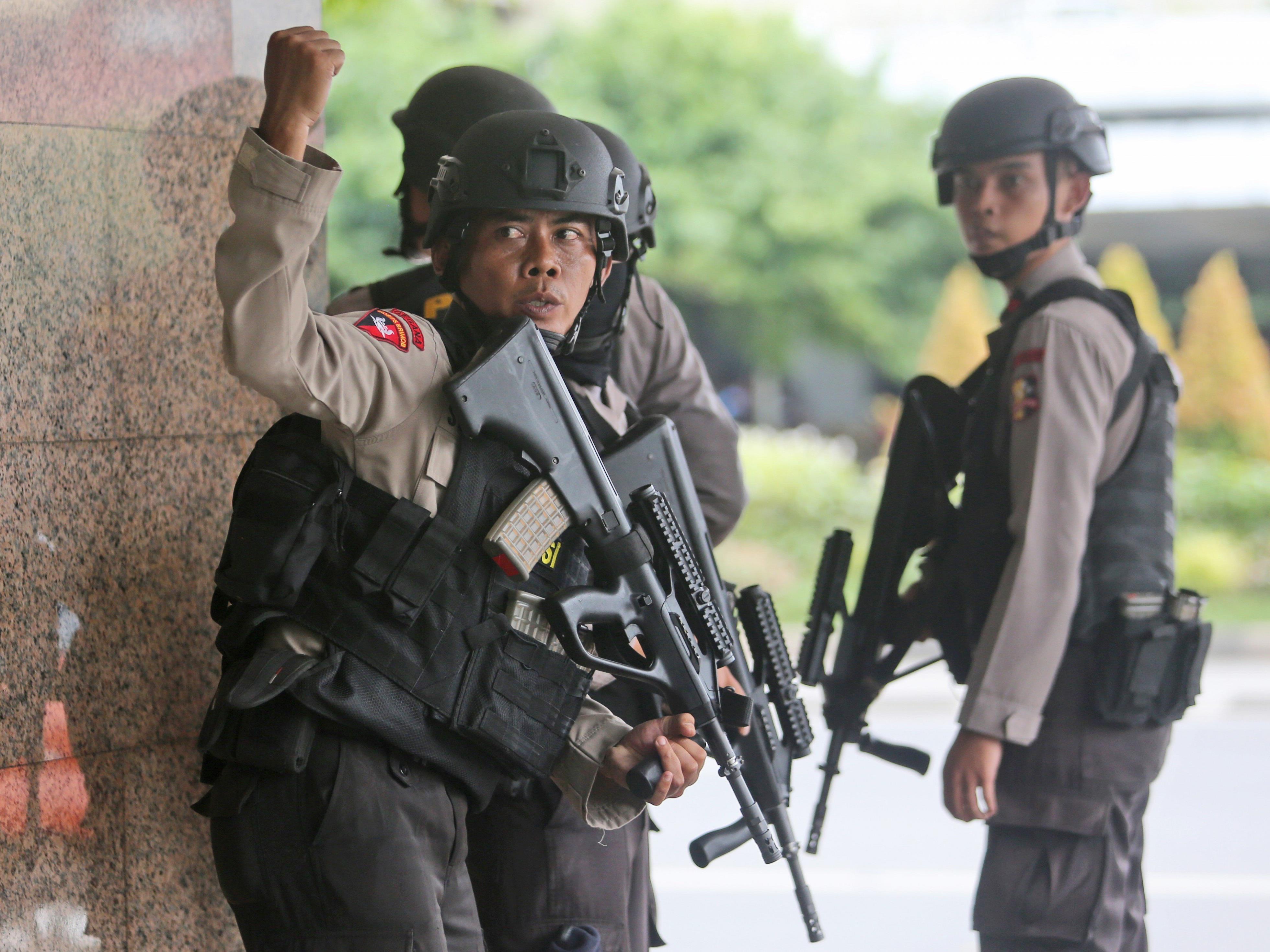 Anti-Terror-Einheiten bereiteten dem Anschlag schnell ein Ende.
