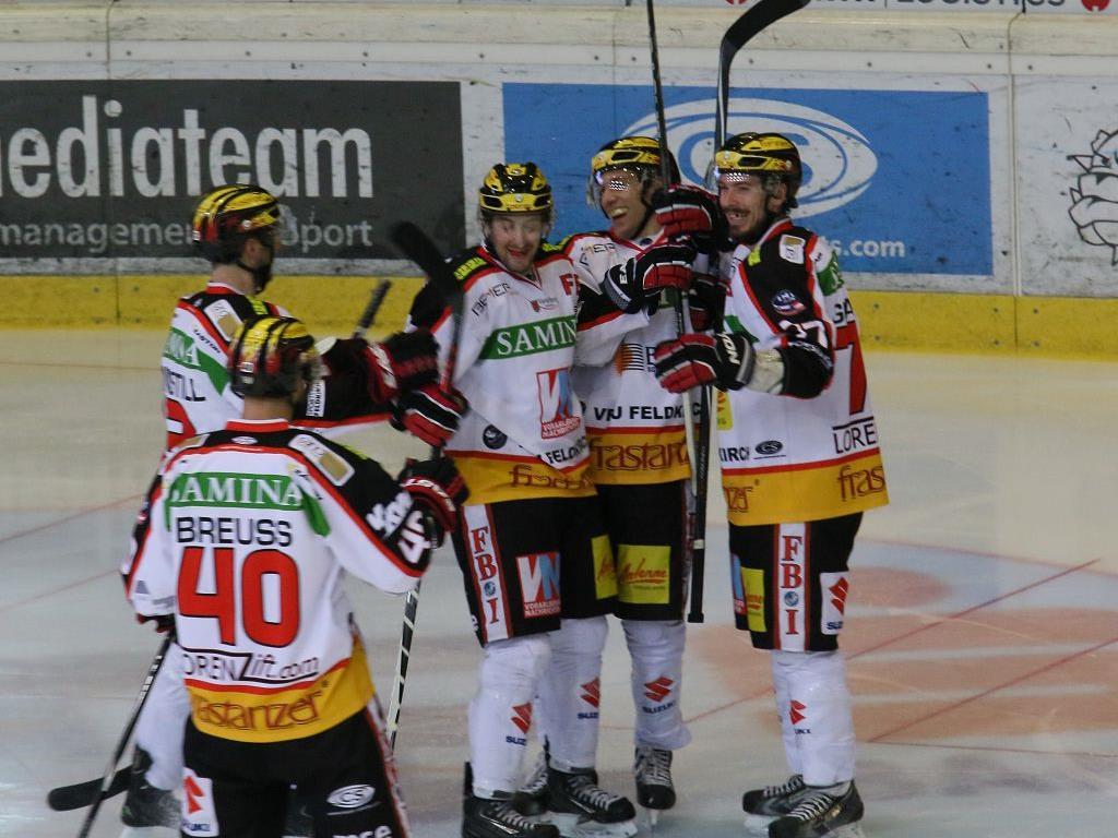 Feldkirch gewinnt gegen die Wälder mit 5:3