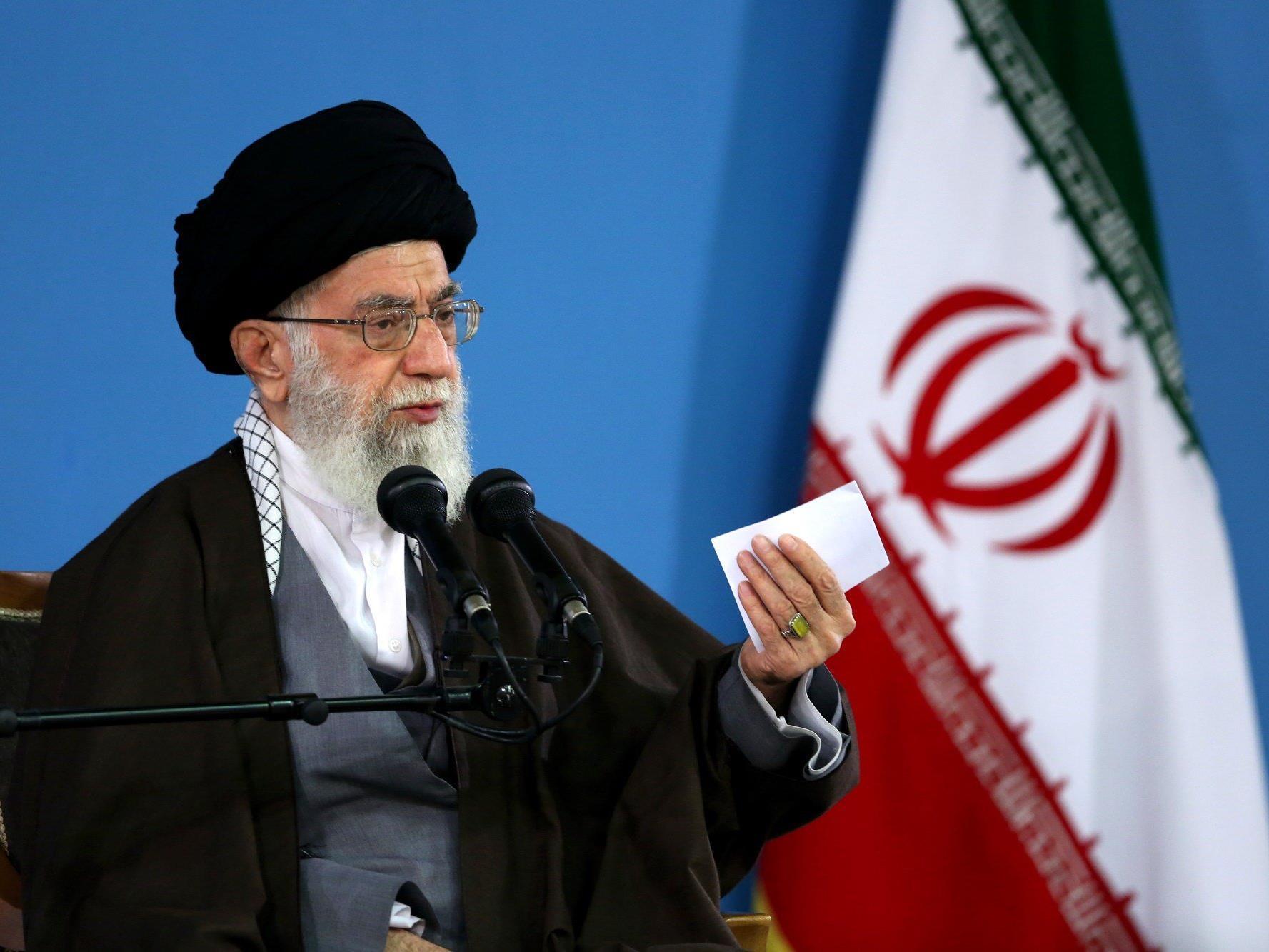 Irans oberster religiöser Führer, Ali Khamenei, gilt als Hardliner gegen den Westen und dürfte nichts gegen den Wettbewerb haben.