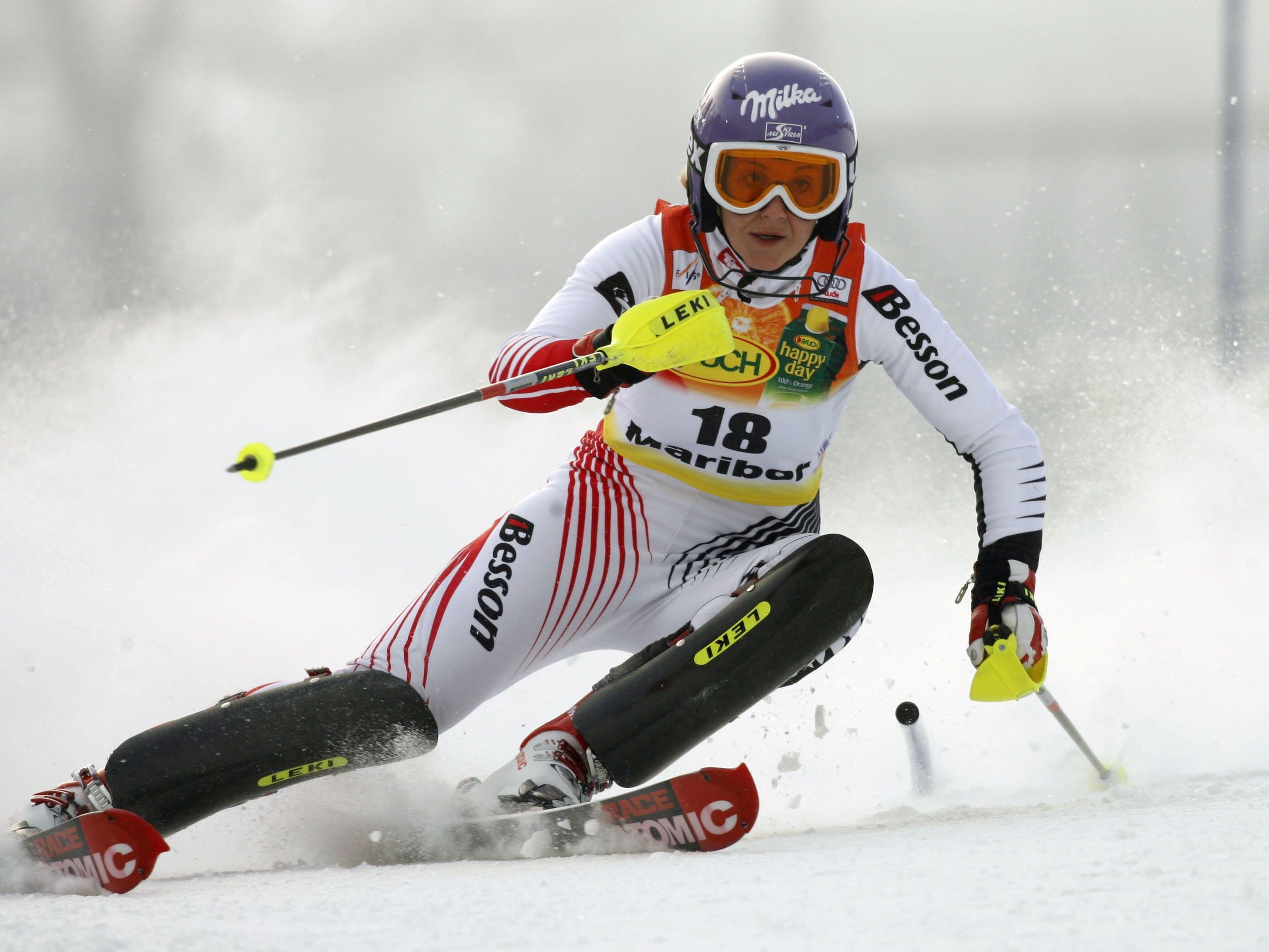 Michaela Kirchgasser will endlich die erste Slalom-Medaille in diesem Winter.