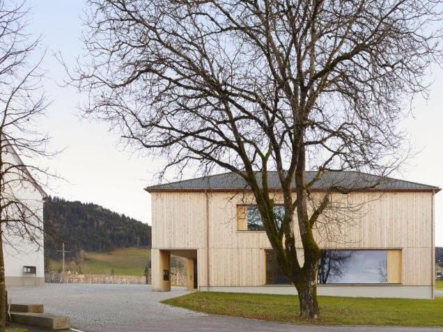 Das neue Pfarrhaus in Krumbach