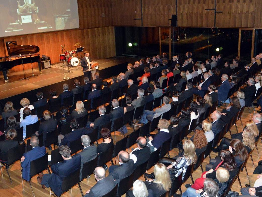 Landeshauptmann Wallner begrüßte knapp 300 Medienschaffende im Festspielhaus